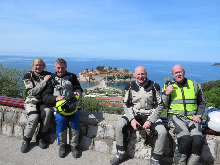 Montenegro coastline