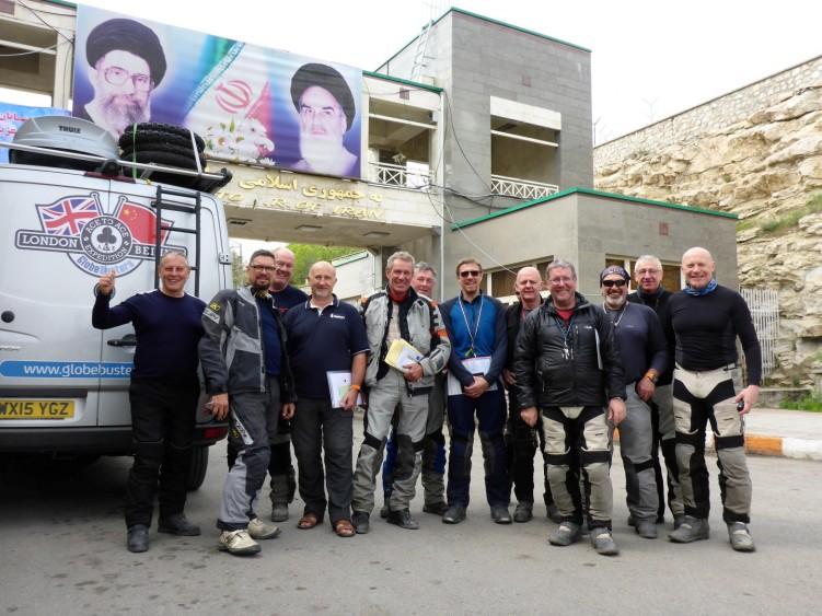 Entering Iran