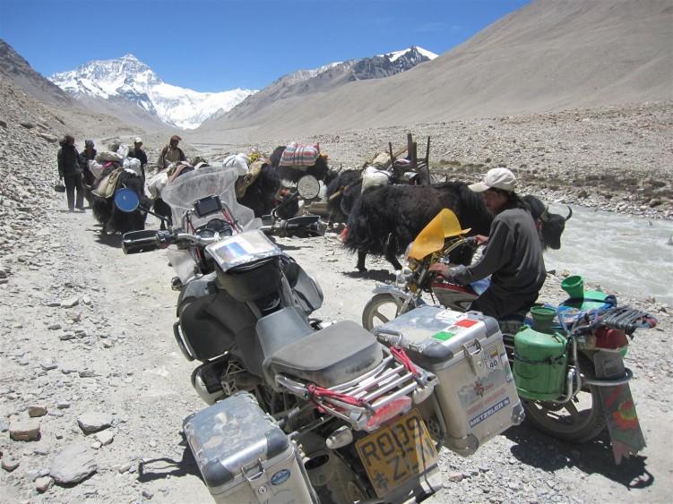 Everest ahead