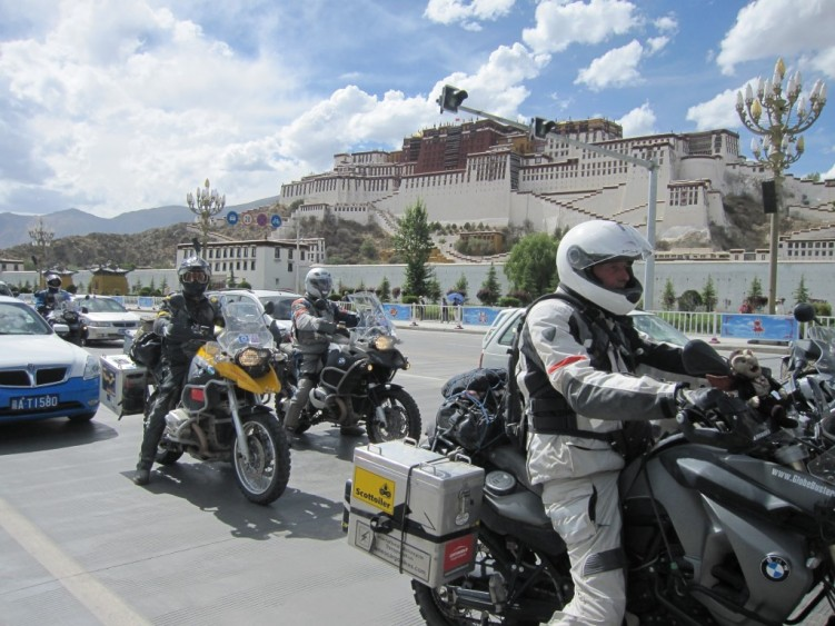 Riding into Lhasa