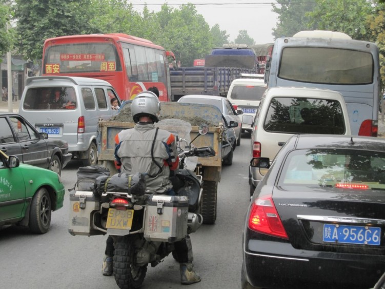 Chaotic Chinese Traffic