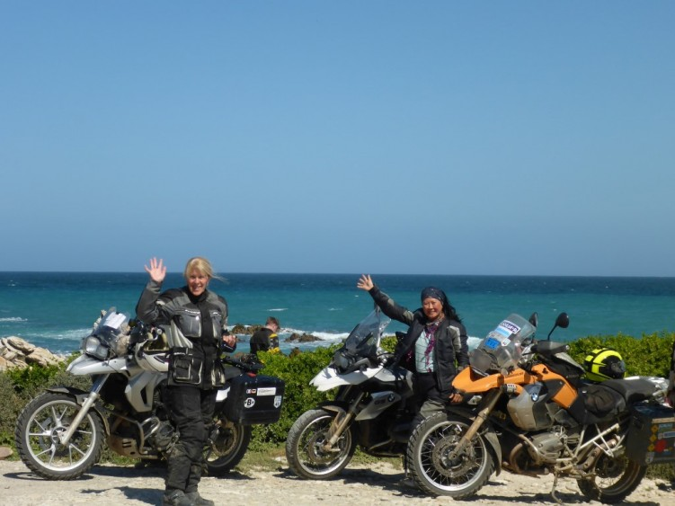 Girls on Tour at Cape Agulhas