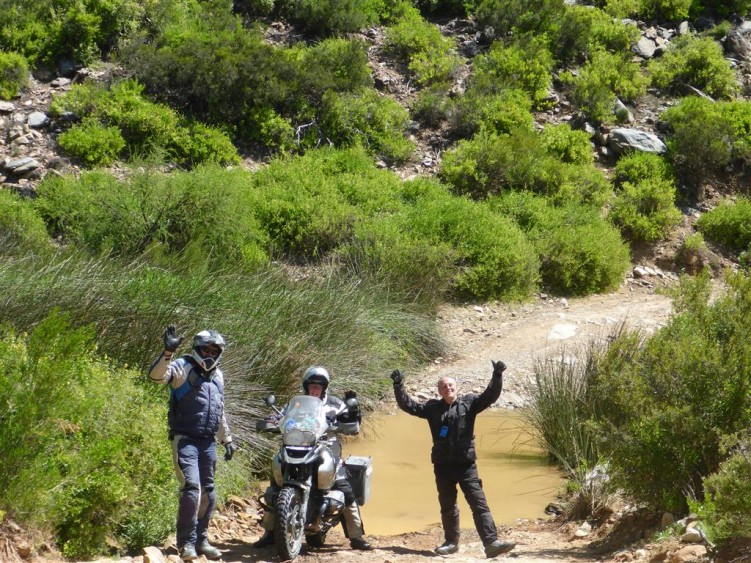 Water crossing in Gamkaskloof Valley (optional ride only)
