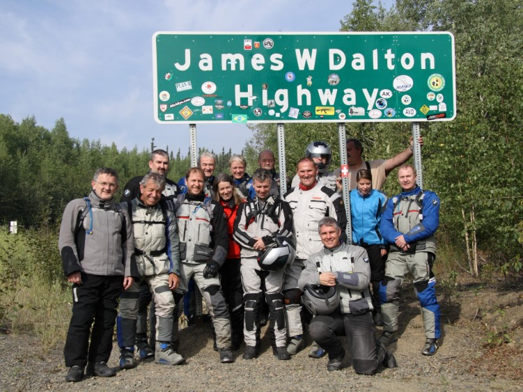Stage 1 - Start of Dalton Highway, Alaska