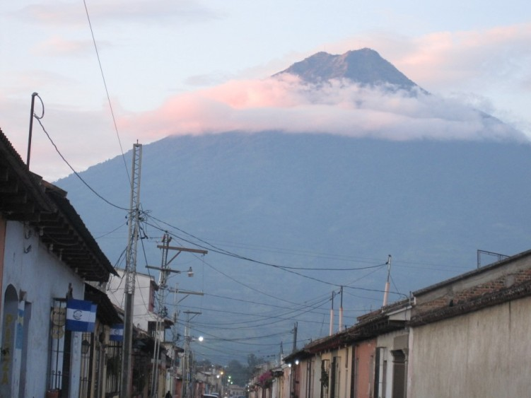 Stage 2 - The volcano view from Antigua Guatemala