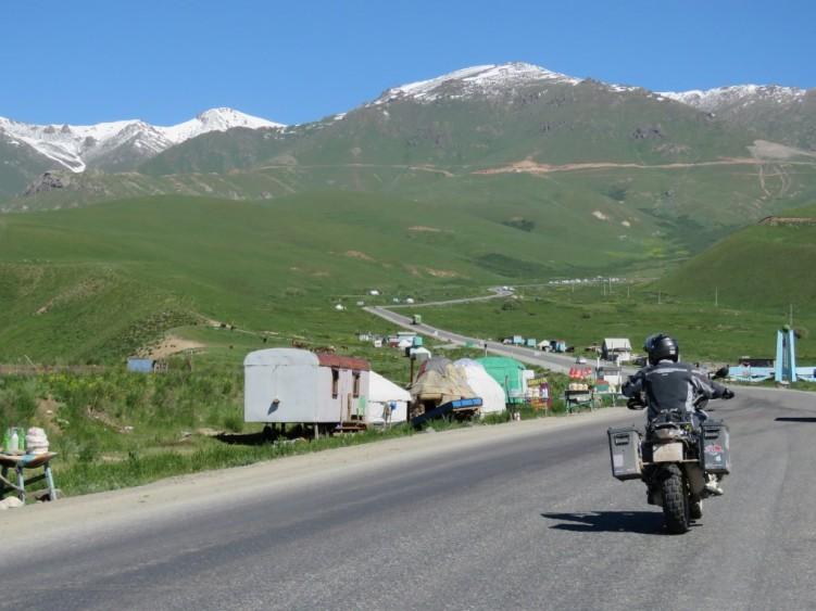 Mountain roads, Kyrgyzstan