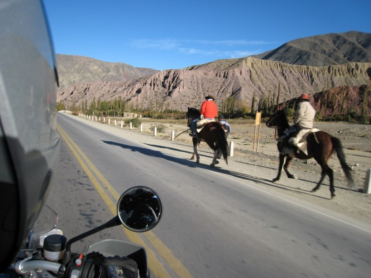 Gauchos in the Quebrada de Humahuaca