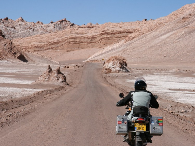 Riding in the Valley of the Moon.