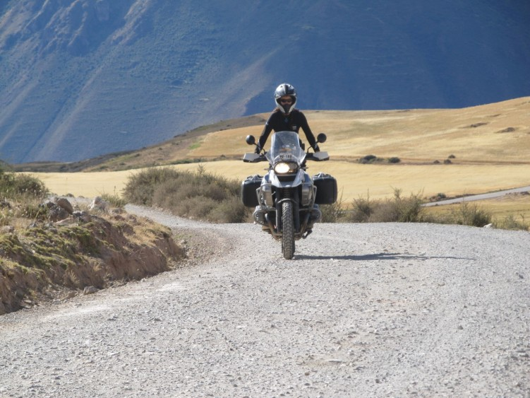 Great gravel roads through the Andes