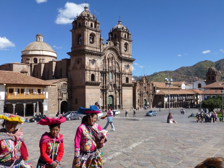 The main plaza, Cusco