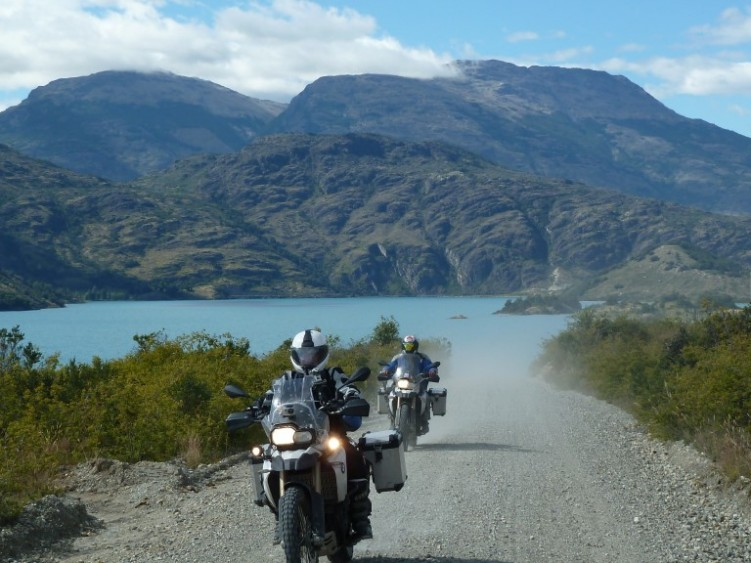 Graded gravel roads on Carretera Austral