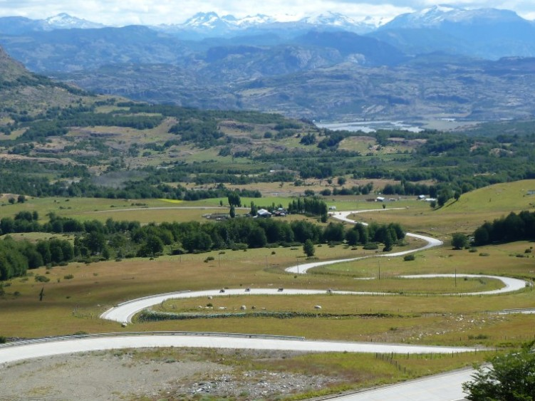 Twisting roads of Carretera Austral