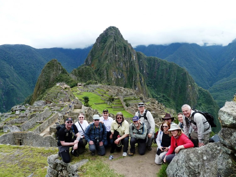 The iconic Inca citadel of Machu Picchu