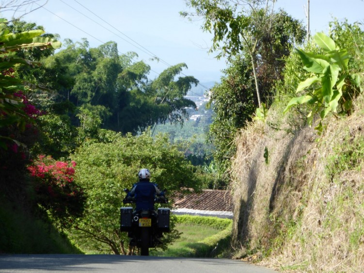 Colombian back roads