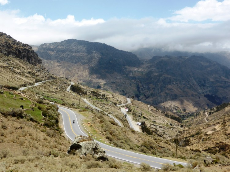 Stage 3 - Traffic free roads of the Andes