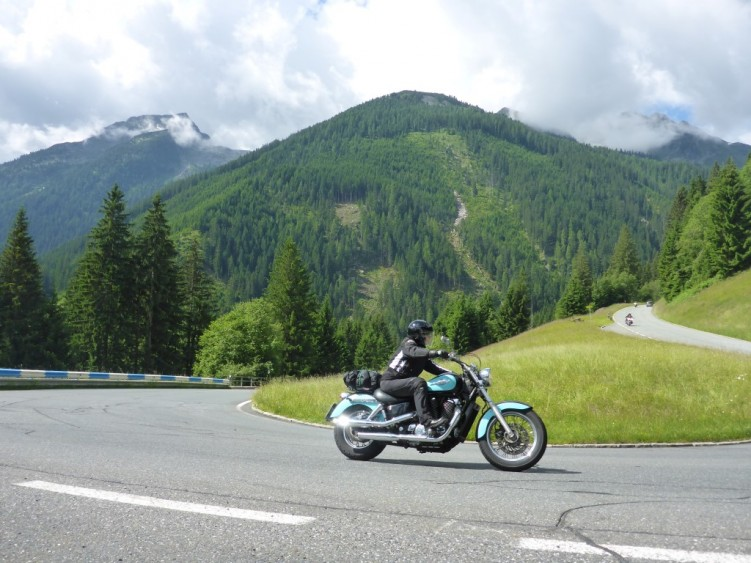 The Gerlos Alpine Road
