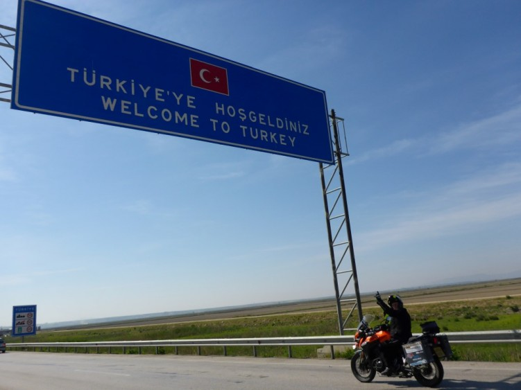 Arriving in Turkey