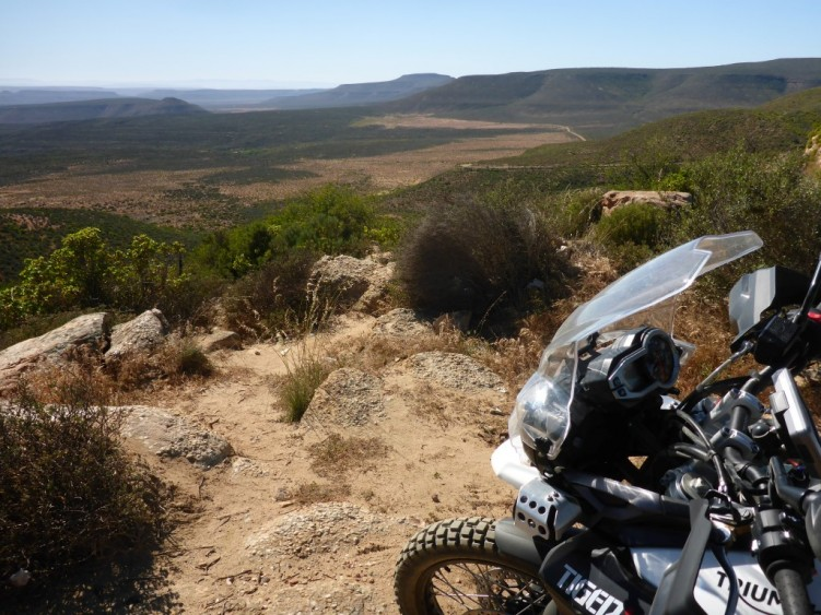 Overlooking the Cederberg Wilderness