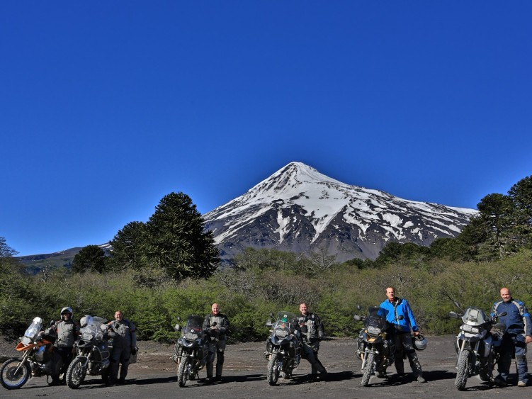 Stage 4 - Volcan Lanin, Chile-Argentina Border Crossing