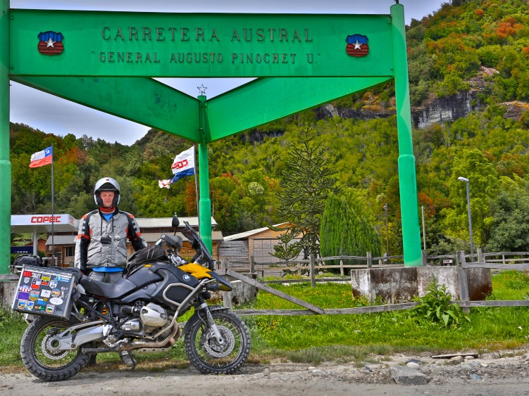 Stage 4 - Carretera Austral, Chile, built by Pinochet