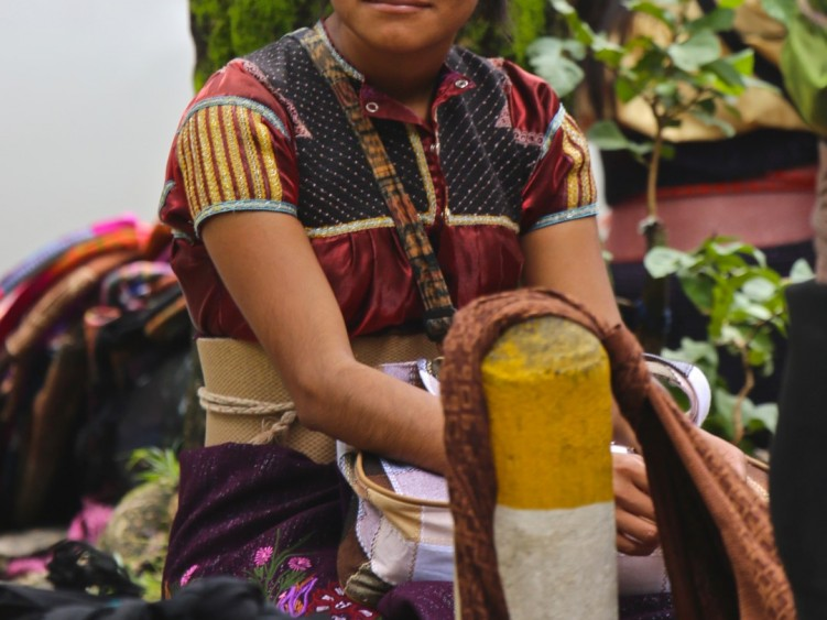 Stage 2 - Local lady selling in the maket