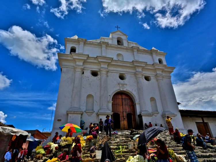 Stage 2 - Church in Chichicastenango, Guatemala