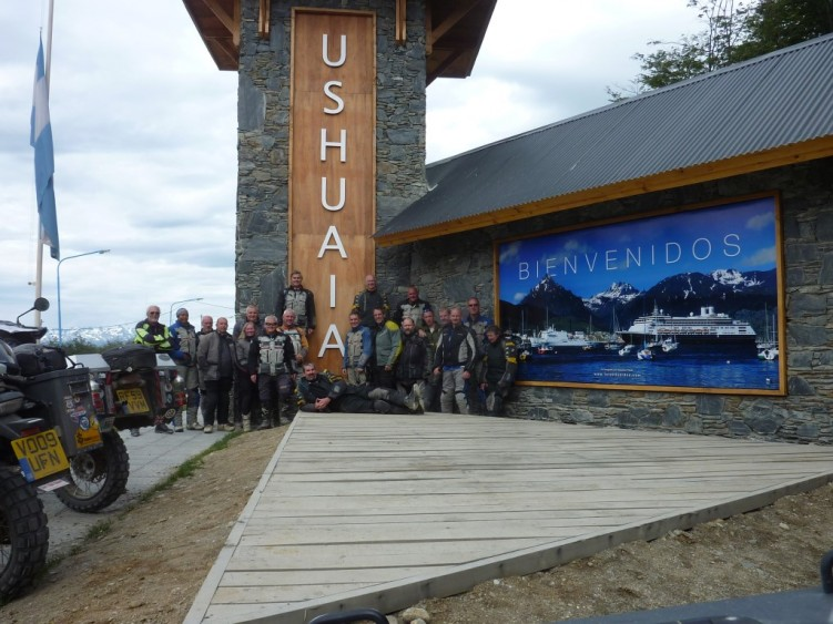 Stage 4 - Milestone!  Reaching Ushuaia.