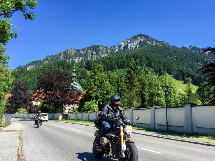 Day 4 - Ride by Ettal Abbey, Bavaria