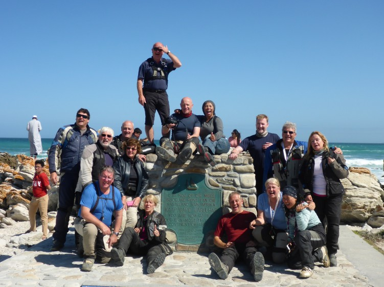 The team at the tip of Africa