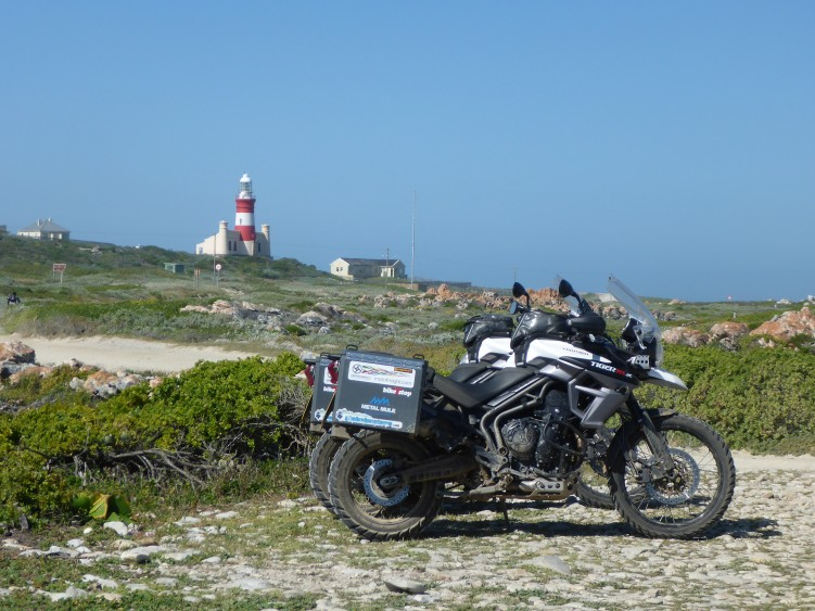 Parked up at Cape Agulhas