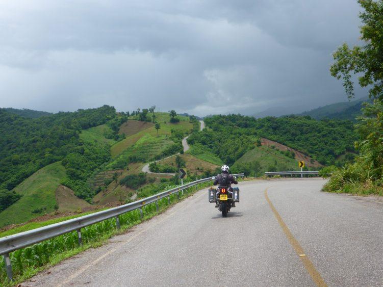 Empty twisty roads