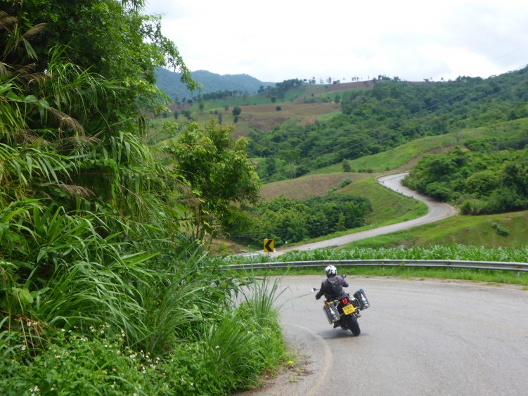 Just one of the many great roads in Thailand