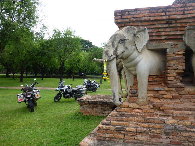 Elephant Temple, Sukhothai