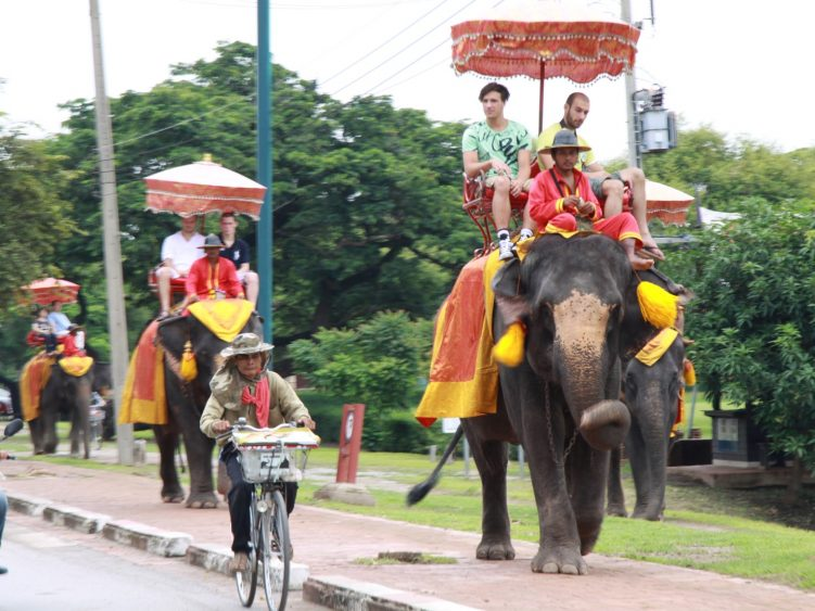 Swap your motorcycle for an elephant, anyone?!