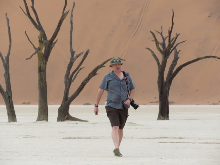 Salt pan at Sossusvlei