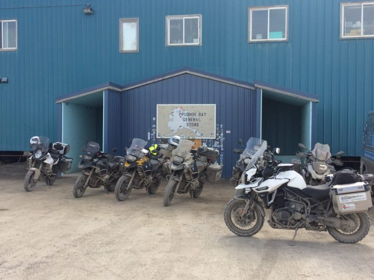Stage 1 - The most northern point, Prudhoe Bay, Alaska