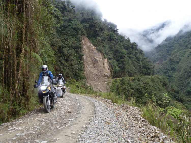 The optional Road of Death ride in Bolivia