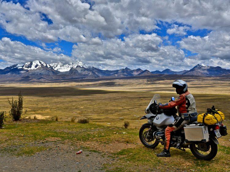 Cordillera Blanca mountain range, Peru