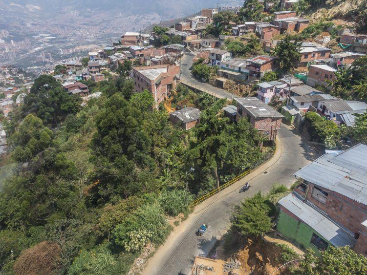 View over Medellin