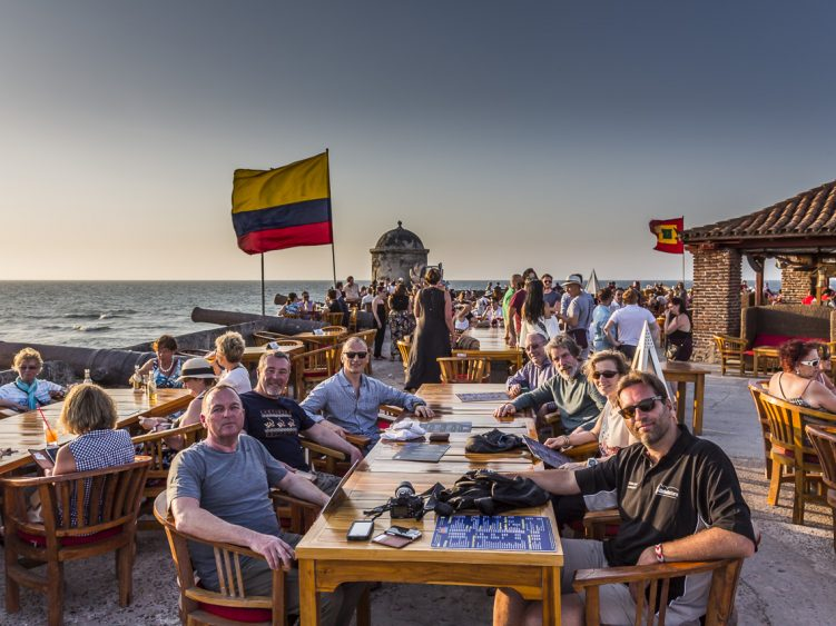Chilling out in Cartagena
