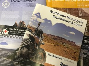 Free Brochure Motorcycle Tours & Expeditions | GlobeBusters