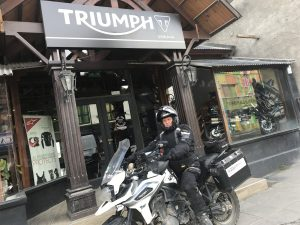 Complimentary Panniers for the latest Triumph Tigers